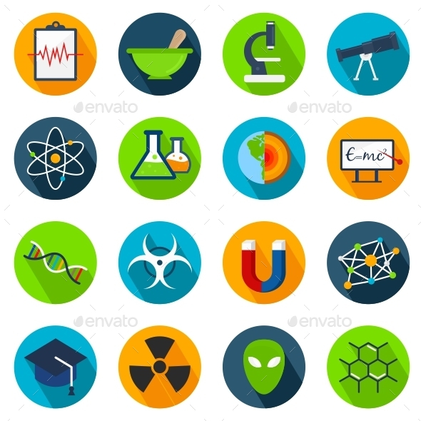 GraphicRiver Science Icons 11129583