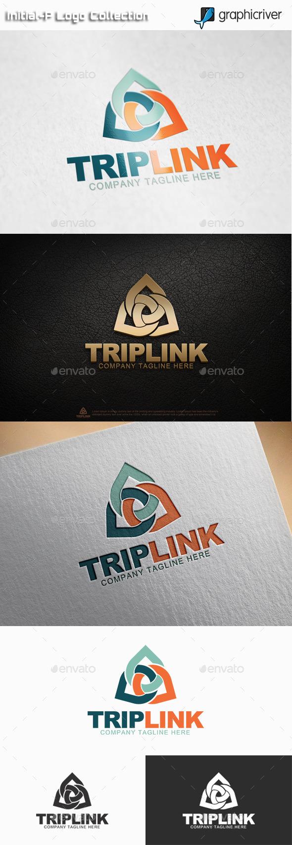 GraphicRiver Trip Link Logo 11129773