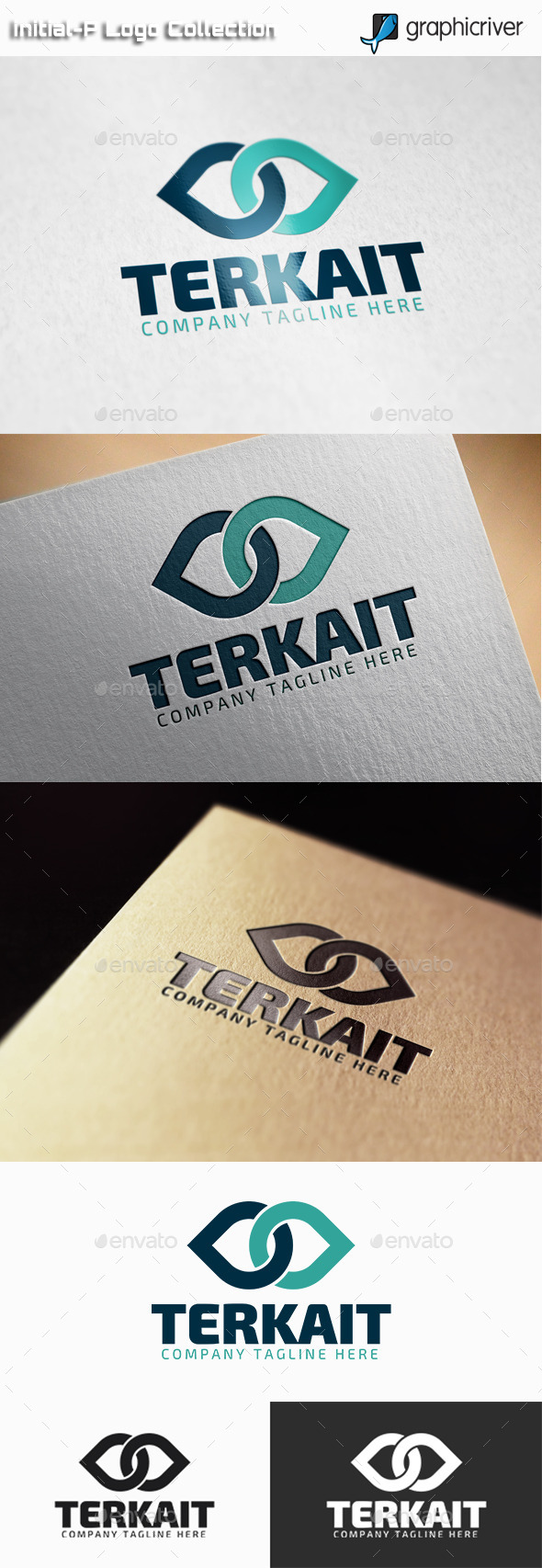 GraphicRiver Terkait Connection Logo 11129829