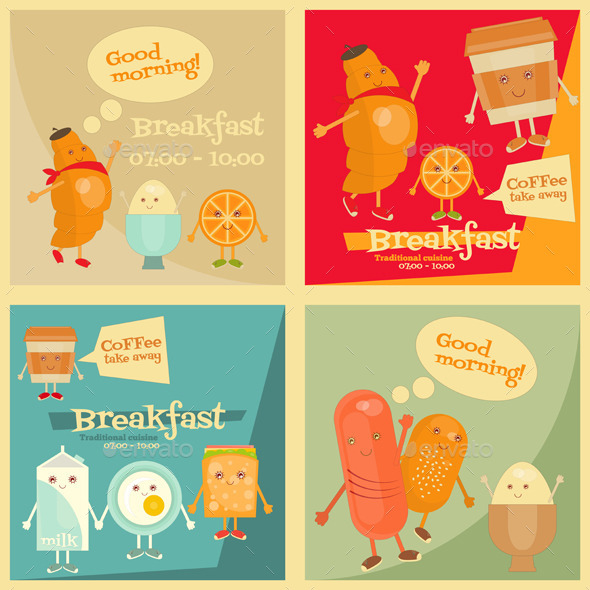 GraphicRiver Breakfast Menu 11129879
