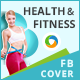 Health and Fitness Facebook Cover - GraphicRiver Item for Sale