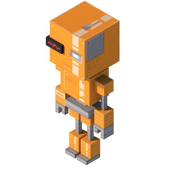 SB-1 Robot  - 3DOcean Item for Sale