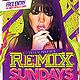 Remix Sundays Party Flyer - GraphicRiver Item for Sale