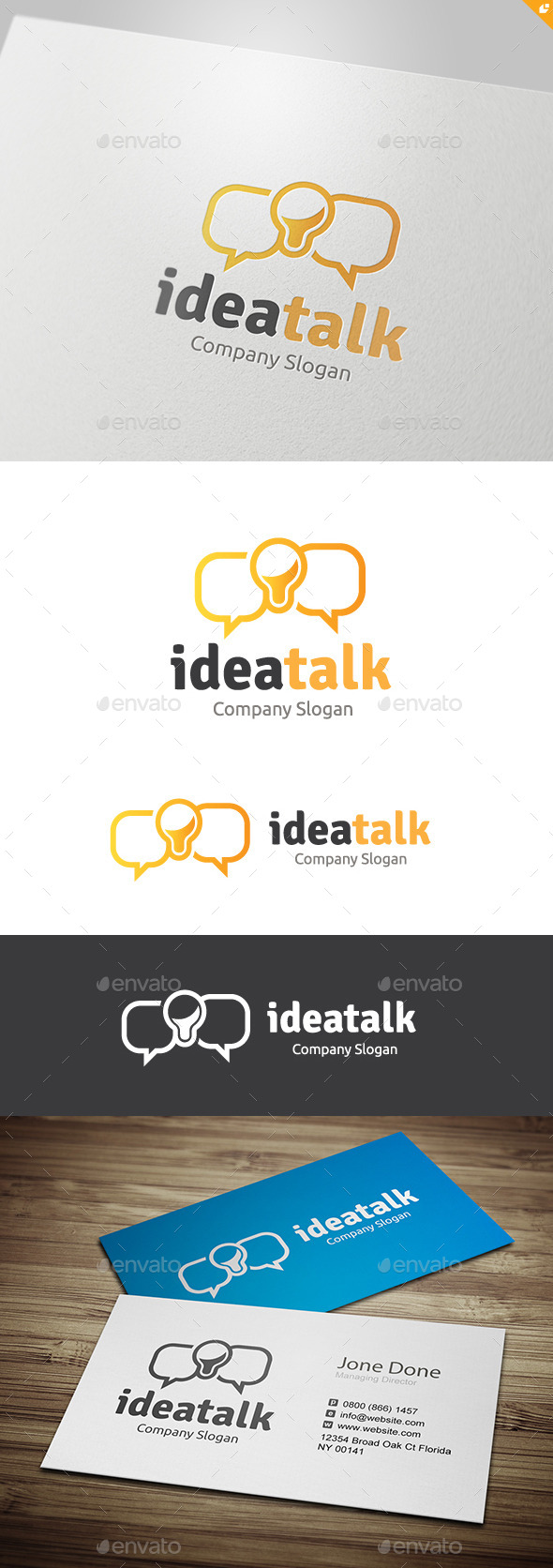 GraphicRiver Idea Talk 11132288
