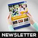 Student's Affair Newsletter Template_InDesign_V4 - GraphicRiver Item for Sale