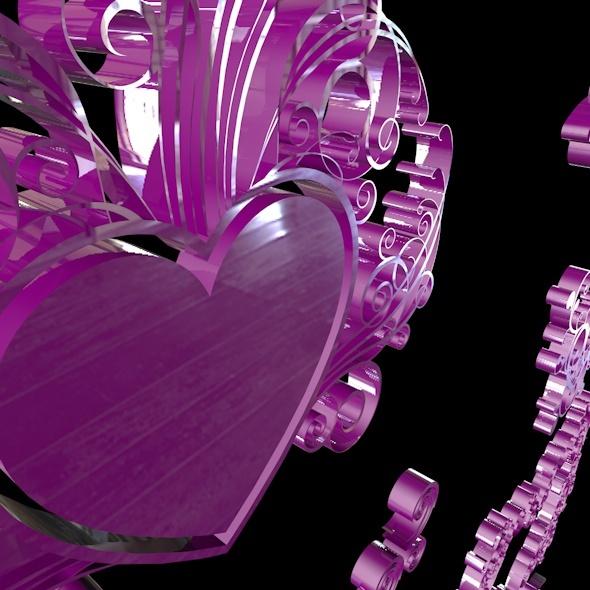 Love Symbol - 3DOcean Item for Sale