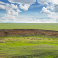 landslide and soil erosion on agricultural fields - PhotoDune Item for Sale