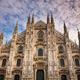 Facade of Milan Cathedral (Duomo di Milan) in the Morning, Milan - PhotoDune Item for Sale