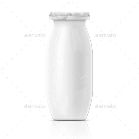GraphicRiver Yogurt Bottle Template 11137416