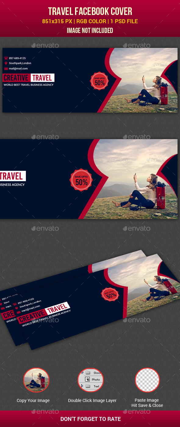 GraphicRiver Travel Facebook Timeline Cover 11137554