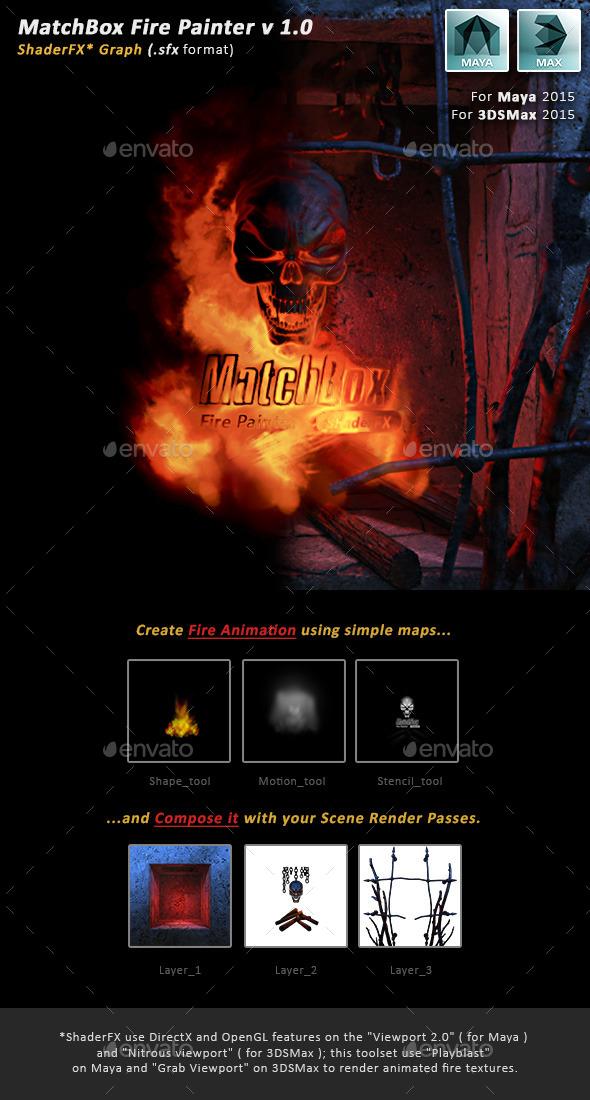 3DOcean MatchBox Fire Painter 11139080
