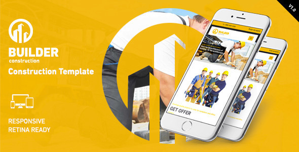 ThemeForest Builder Construction HTML Template 11099785