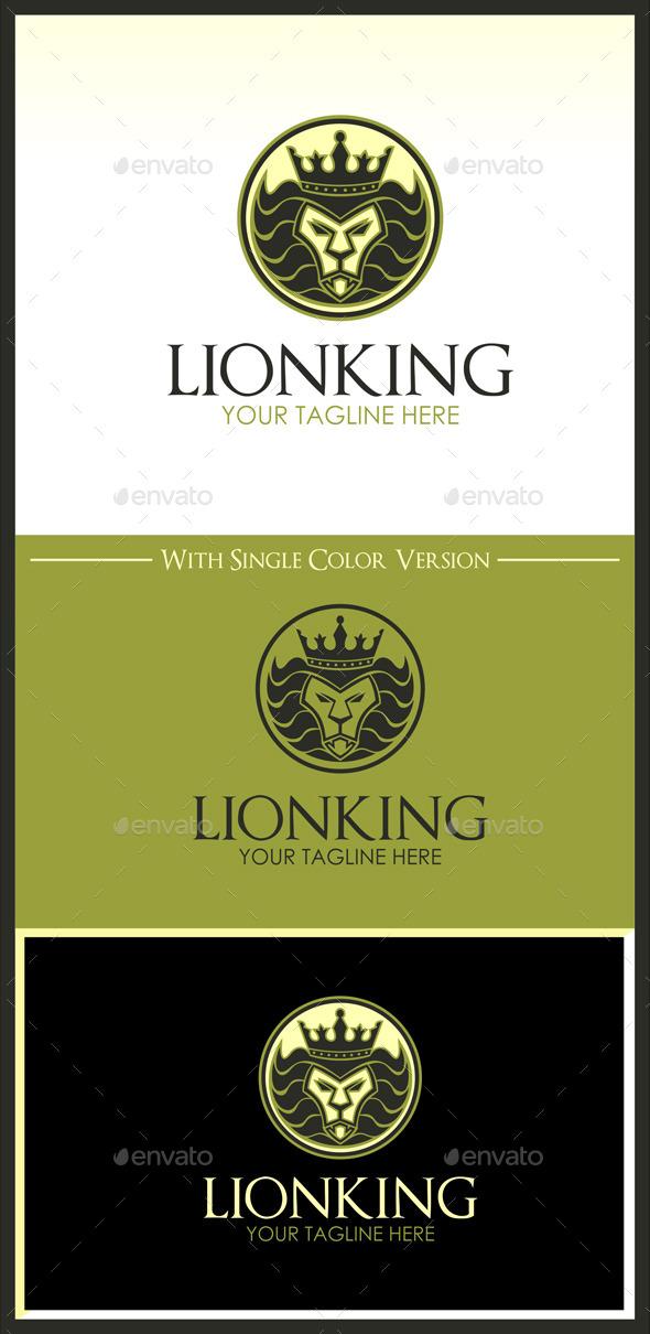 GraphicRiver Lion King Logo 11139178