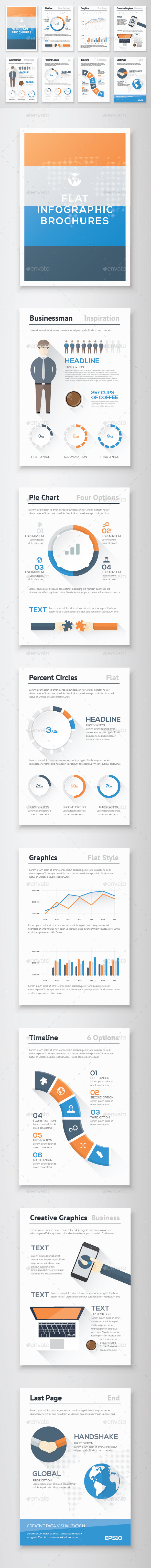 GraphicRiver Infographic Brochure Vector Elements Kit 13 11139410