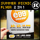 Summer Picnic Flyer - GraphicRiver Item for Sale