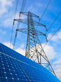 Solar Panels And Pylon - PhotoDune Item for Sale