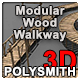 Modular Wood Walkway or Jetty