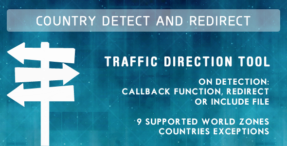CodeCanyon Country Detect & Redirect 89383