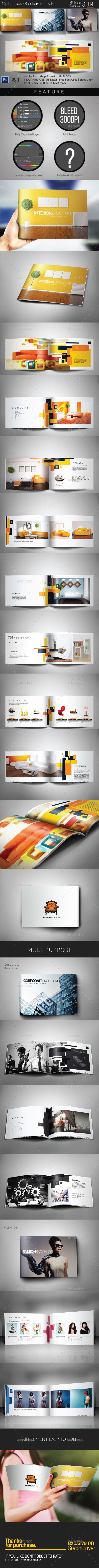 GraphicRiver Multipurpose Catalogs Brochure Portofolio 11139758