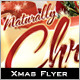 Naturally Christmas Flyer - GraphicRiver Item for Sale