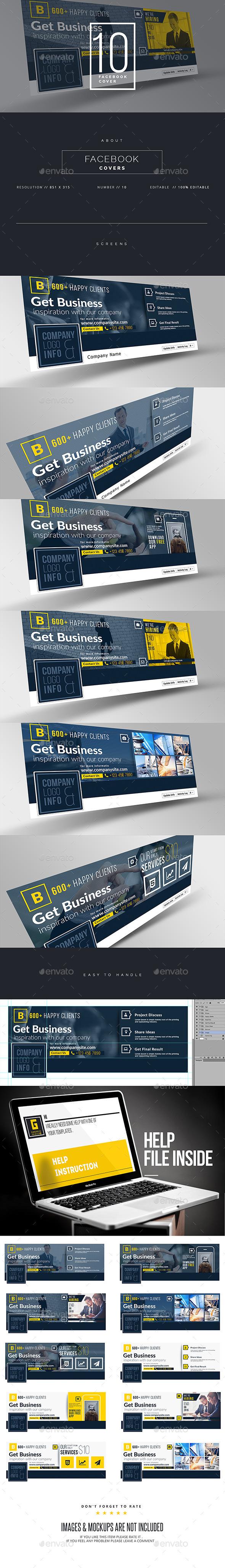 GraphicRiver Corporate Facebook Timeline 11140007
