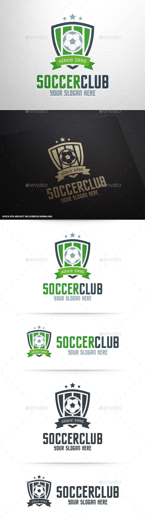 GraphicRiver Soccer Club Logo Template 11140029