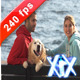 Young Happy Couple With A Dog - VideoHive Item for Sale