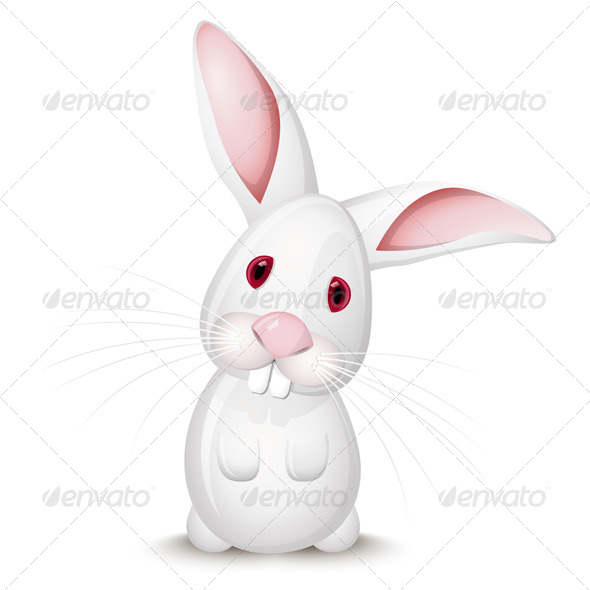 GraphicRiver Little White Rabbit 137797