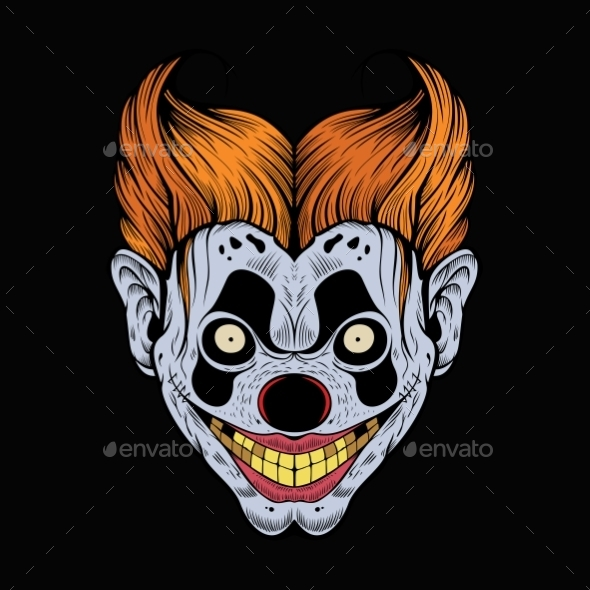 GraphicRiver Scary Clown 11140208