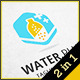 Water Plus - Logo Template - GraphicRiver Item for Sale