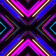 VJ Neon Lights Tunnel Colorful Laser Fly Through - VideoHive Item for Sale