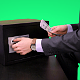 Businessman puts Money in the Safe - VideoHive Item for Sale