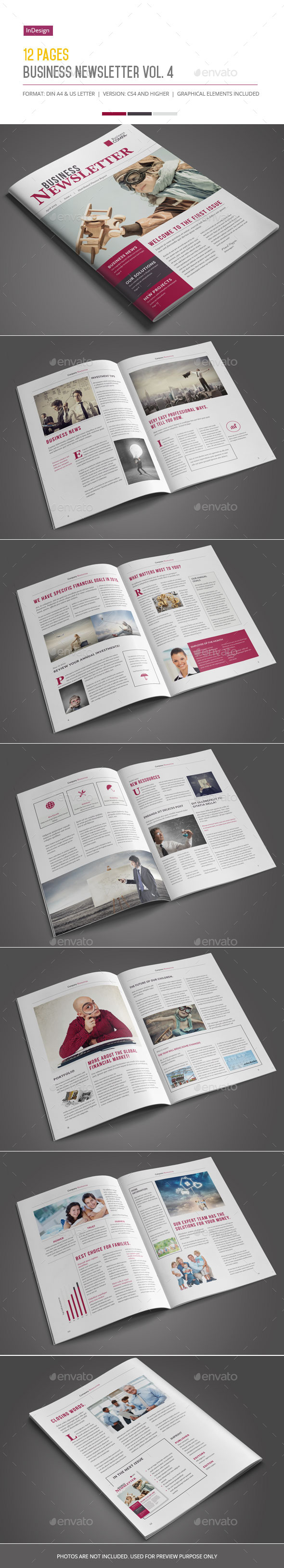 GraphicRiver Business Newsletter Vol 4 11142639