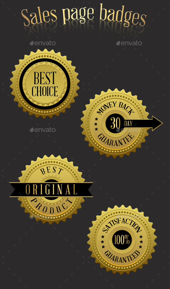 GraphicRiver Sales Page Badges 11143007