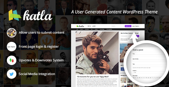 ThemeForest Katla User Generated Content Theme 11143562