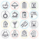 Kitchen and Cooking Line Icons - GraphicRiver Item for Sale