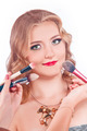 makeup process of a young pretty girl - PhotoDune Item for Sale