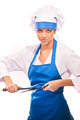 girl in chef uniforms - PhotoDune Item for Sale