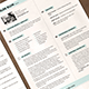 Medical Resume and Cover Letter - GraphicRiver Item for Sale
