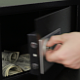 Businessman takes Money from the Safe Close-Up - VideoHive Item for Sale
