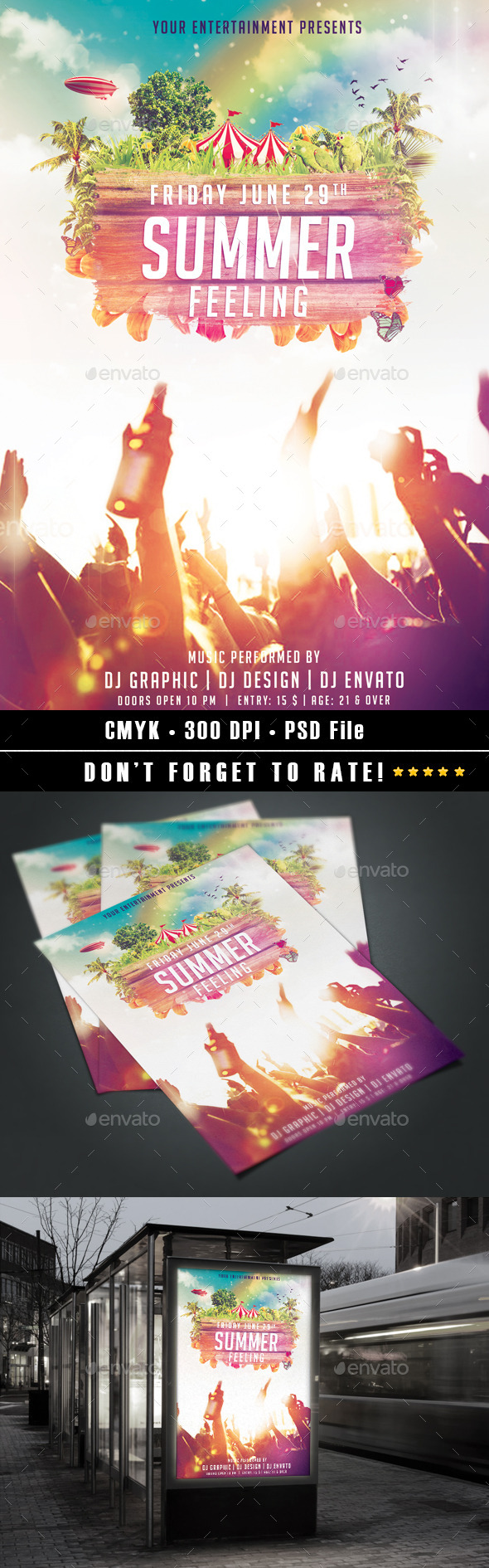 GraphicRiver Summer Feeling 11144936
