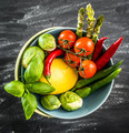 Fresh vegetables in a bowl - PhotoDune Item for Sale