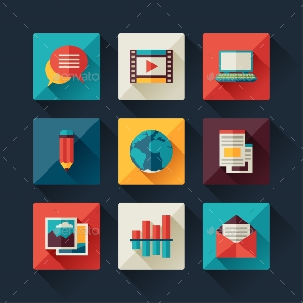 GraphicRiver Blog Icons 11145041