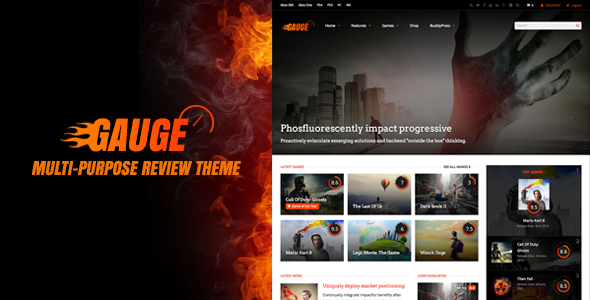Gauge: Multi Purpose Review Theme