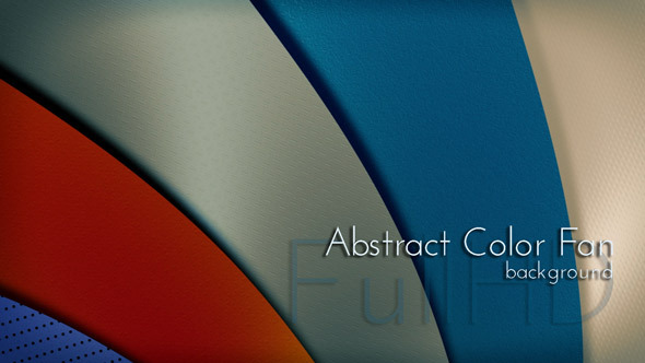 Abstract Color Fan background