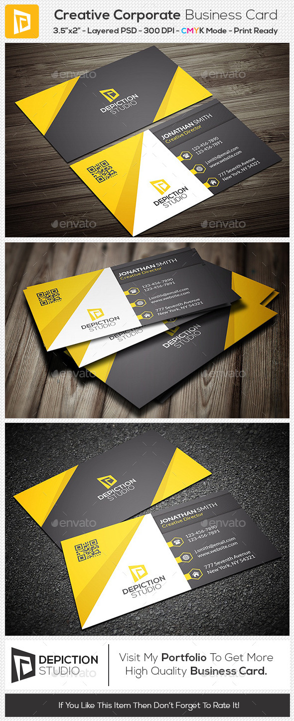 GraphicRiver Creative Corporate Business Card 11146107