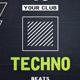 Techno - Flyer [Vol.2] - GraphicRiver Item for Sale