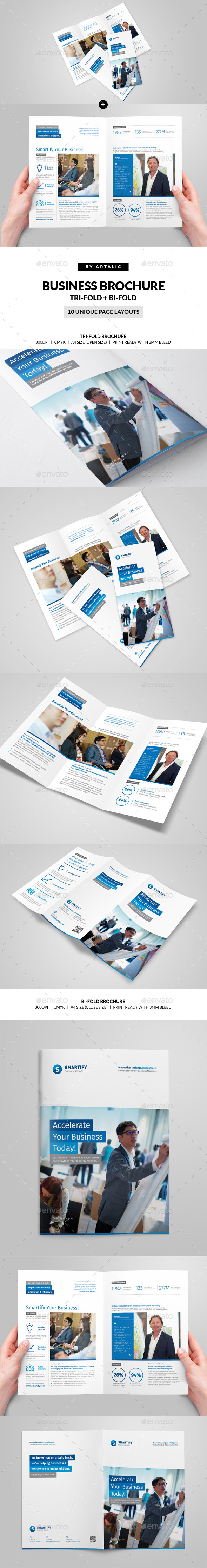 GraphicRiver Corporate Business Brochure 2-Format 11146319