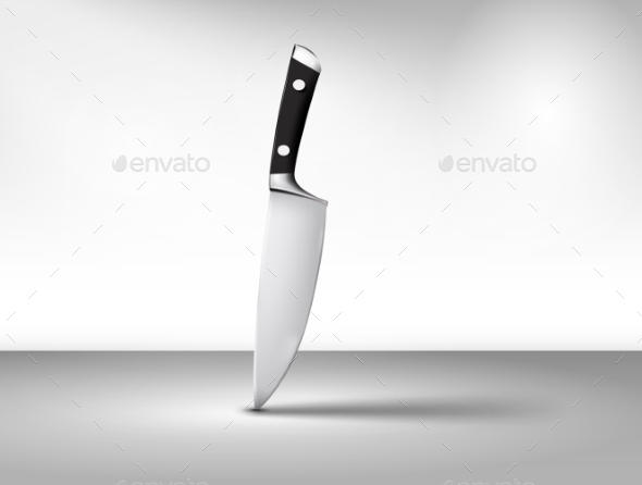 GraphicRiver The Kitchen Knife 11146368
