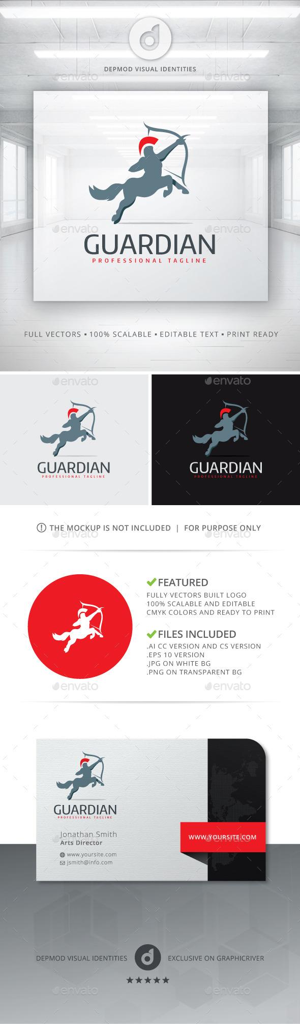 GraphicRiver Guardian Logo 11146373